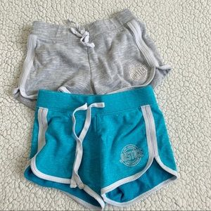 Justice Girls Lot of 2 Cotton Active Shorts 6/7